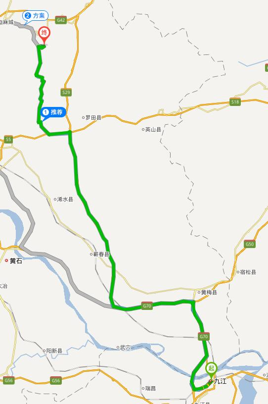九江——龟峰山风景区的旅游线路